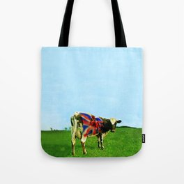 Atom Cow Tote Bag