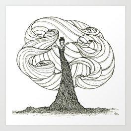 Dryad- Wind Mover Art Print