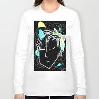 bow Long Sleeve T-shirts featuring Bow by transFIGure