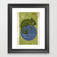Don't Worry...I'll See You Soon Framed Art Print