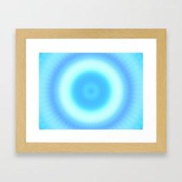 Ripple V Framed Art Print