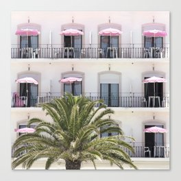 Life in Pink Canvas Print