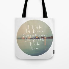 Everything On Earth Tote Bag