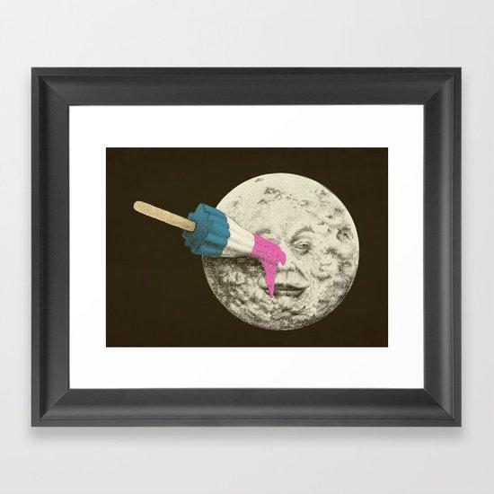 Summer Voyage (colour option) Framed Art Print