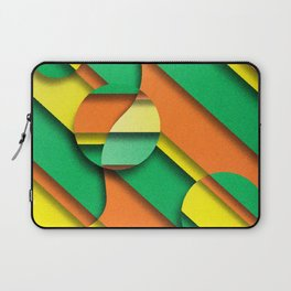 CIRLCES COME IN THREES Laptop Sleeve