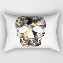 Skull of smoke and fire Rectangular Pillow