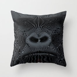 Did You See the Gorilla Throw Pillow