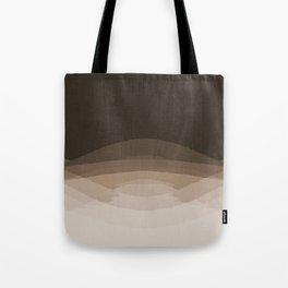 Espresso Brown Ombre Tote Bag