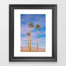 Palm Trees, Palm Tree, Desert, California, Summer, Landscape Photography, West Coast, Cali, Beach Framed Art Print