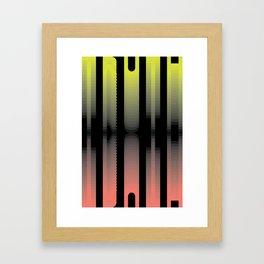 dark truth Framed Art Print