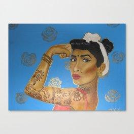 Riveter Canvas Print