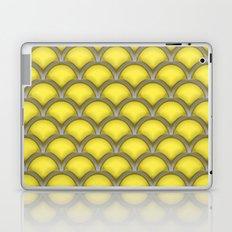 Large scallops in buttercup yellow Laptop & iPad Skin