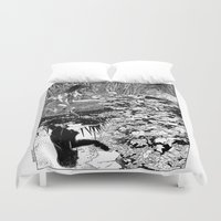 apollonia Duvet Covers featuring asc 534 - La Dame du lac (Viviane) by From Apollonia with Love