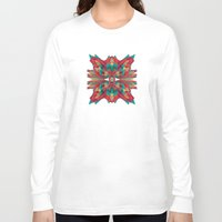 cyberpunk Long Sleeve T-shirts featuring Summer Calaabachti Heart by Obvious Warrior
