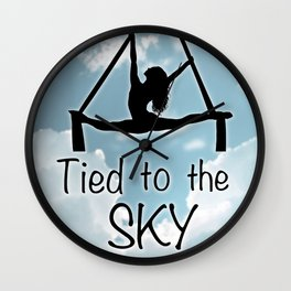 """Aeiralist """"Tied to the Sky"""" Graphic Wall Clock"""