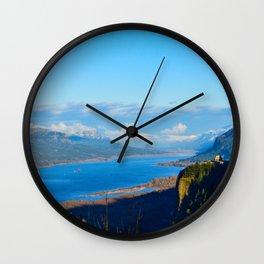 The Gorge II Wall Clock