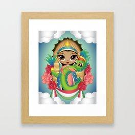 Gods of Mexico Framed Art Print