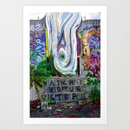 W@tCh YO ORE step Art Print
