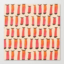Vermillion Gates Canvas Print