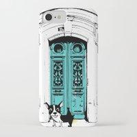 shameless iPhone & iPod Cases featuring Shameless Dog by Ninostchka Coronado