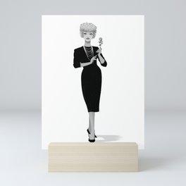 Gigi 02 Mini Art Print