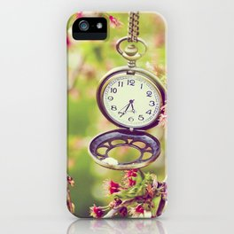 A time to remember iPhone Case