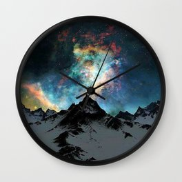 NORTHERN LIGHT ALASKA Wall Clock