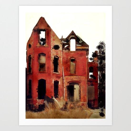 Abandoned Detroit Art Print