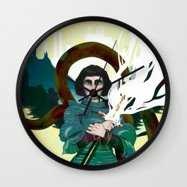 Juana de Arco Wall Clock