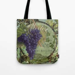 Wines of France Merlot Tote Bag