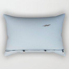 Air travel Rectangular Pillow