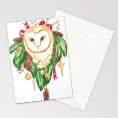 Winter Woodland Magic Owl Stationery Cards
