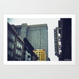 The City, San Francisco Art Print