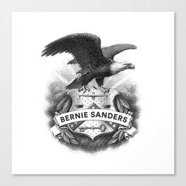 Bernie Sanders Crest Canvas Print