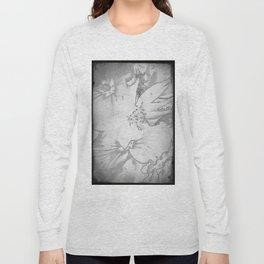 Flower bouquet...BW Long Sleeve T-shirt