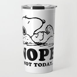 Snoopy Nope Travel Mug