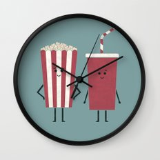 Movie Time Wall Clock