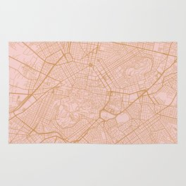 Athens map Rug