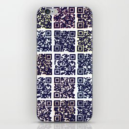 QR Codes to Playlists iPhone Skin