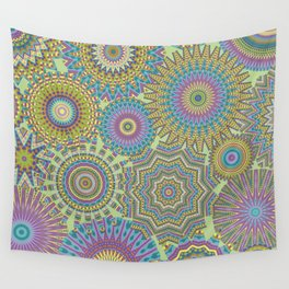 Kaleidoscopic-Jardin colorway Wall Tapestry