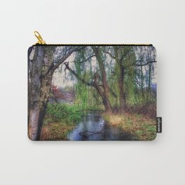 Wenn die Weiden Trauer tragen (When the willows wear mourning) Carry-All Pouch