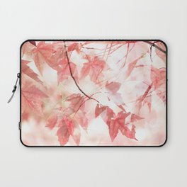 Autumn Through Rose-Colored Glasses Laptop Sleeve