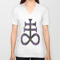 alchemy V-neck T-shirts featuring Alchemy by Lucid Daydreamers