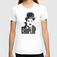 charlie chaplin T-shirts featuring Charlie Chaplin by MarcusEF
