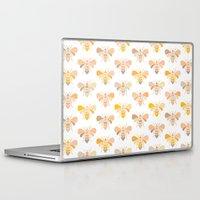 bees Laptop & iPad Skins featuring Bees by Heleen van Buul