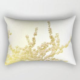 Sunlit Cherry Blossoms - Dreamy Floral Photography - Flower Art Prints, Apparel, Accessories... Rectangular Pillow