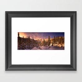 Dream Lake - Rocky Mountain National Park Framed Art Print