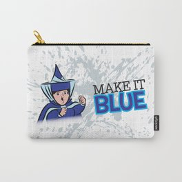"Merryweather ""Make It Blue"" / Sleeping Beauty Carry-All Pouch"