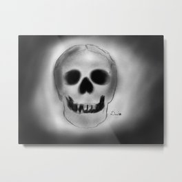 Mortem Metal Print