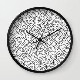 Crazy Mazes Wall Clock